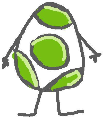 Yoshi Egg Character